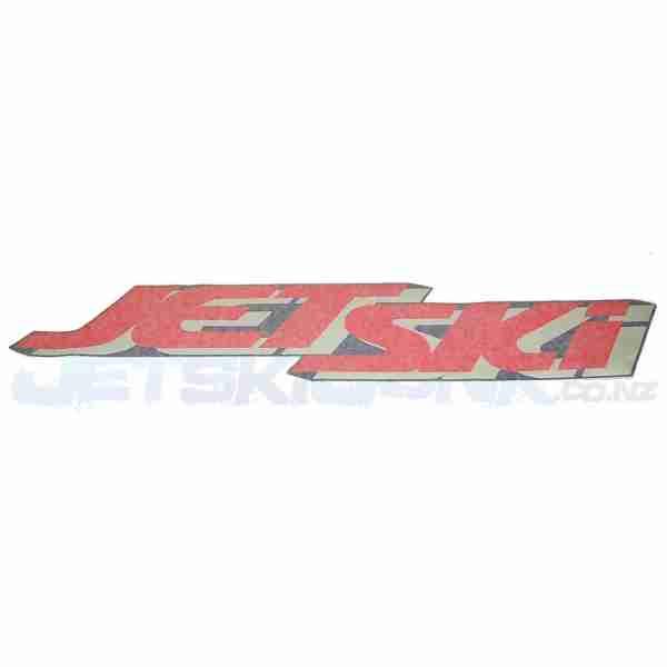 """Kawasaki Decal - Genuine - """"Jetski"""""""