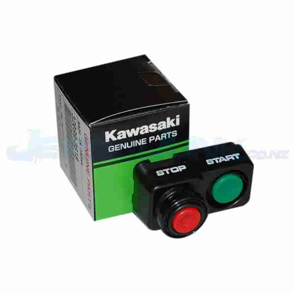 Kawasaki Kill Switch with Green Lanyard