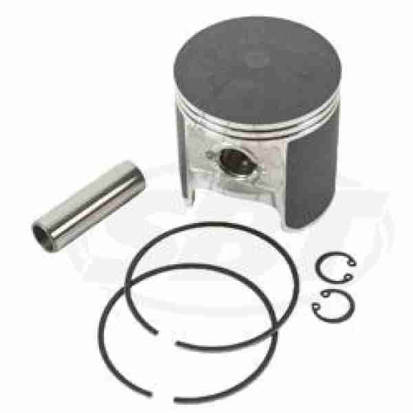 Kawasaki 650 Piston Kit - 1.0mm o/s