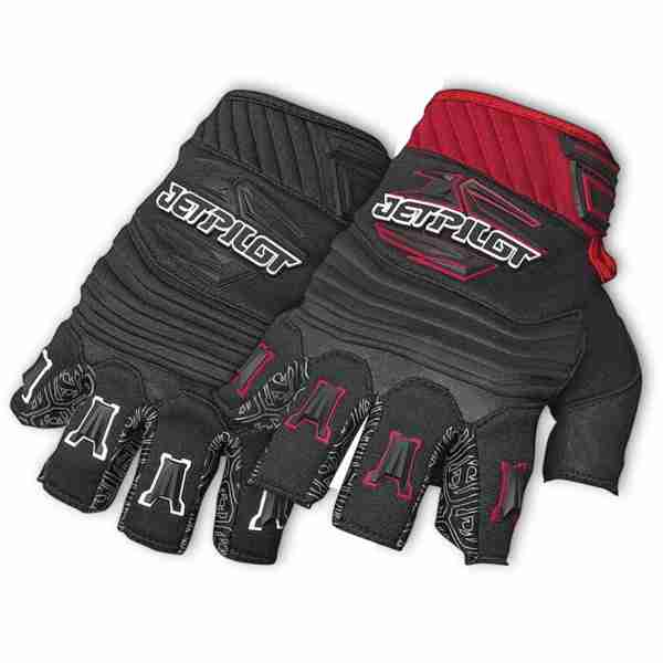 Jetpilot Short Finger Glove - Black