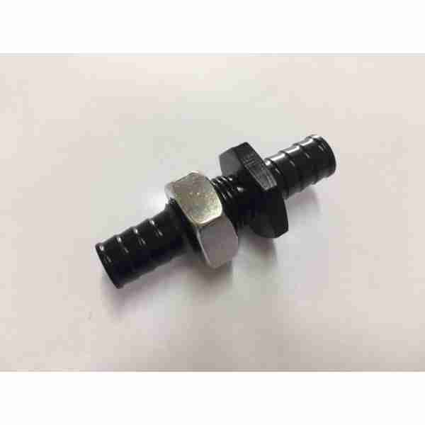 Thru-Hull Connector 1/2 Black