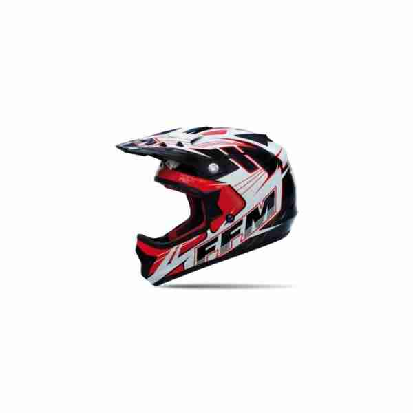 FFM Motopro 3 Fragment Black/Red/White Helmet