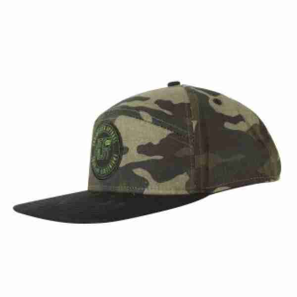 Jet Pilot Engineered Mens Cap Camo/Grey