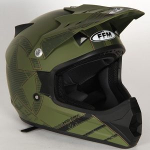 Motopro Blackhawk Junior Helmet Camo