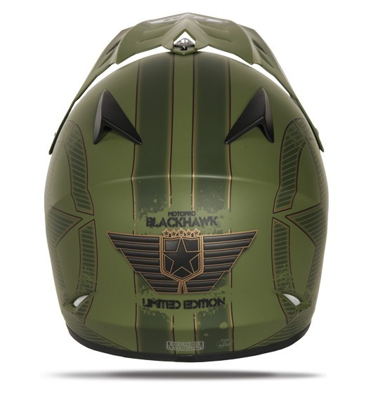 Motopro Blackhawk Junior Helmet Camo