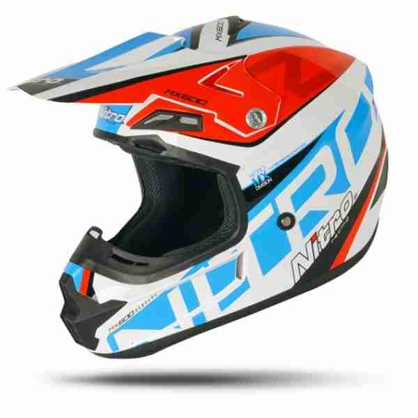 Nitro MX-600 Rebound White/Red/Blue