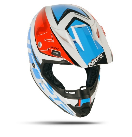 Nitro MX-600 Rebound White/Red/Blue