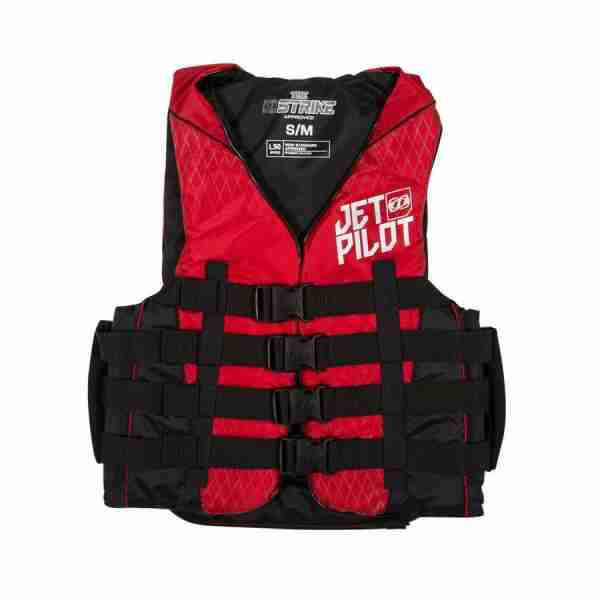 Jet Pilot STRIKE Nylon Vest - Red