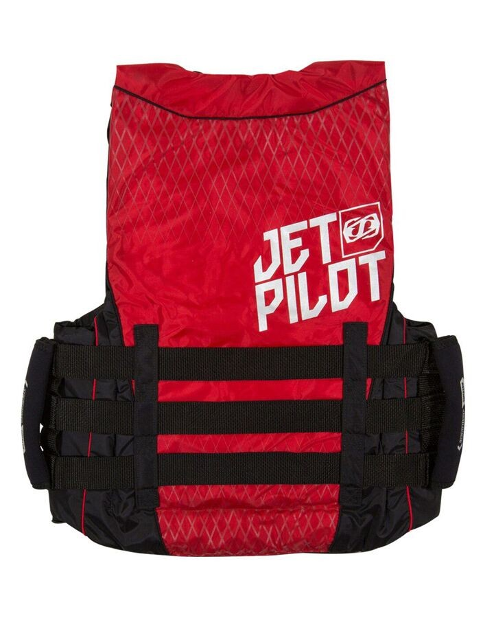 Jet Pilot STRIKE Nylon Vest - Red