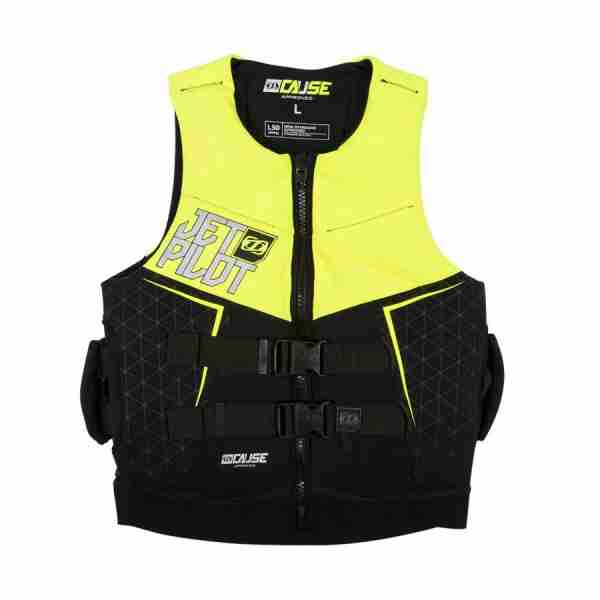 Jet Pilot The Cause L50 F/E Neo Vest with Handles - Yellow