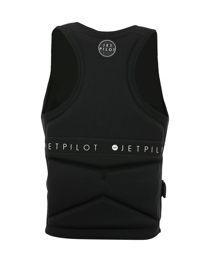 Jet Pilot Midnight Seg Ladies Neo Vest - Black/White