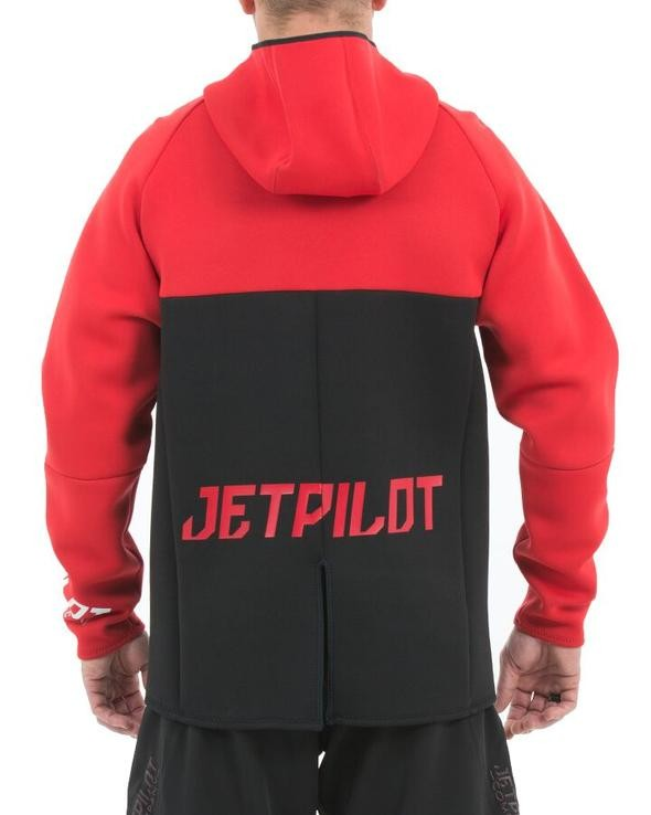 Jet Pilot Flight Hooded Tour Coat - Red