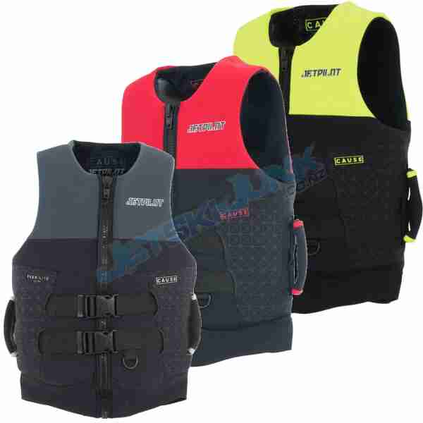 Jet Pilot MENS Cause SuperGrip Neo Vest with Handles
