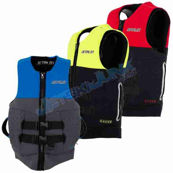 Jet Pilot Cause Neo Vest with Zip-Up Handles
